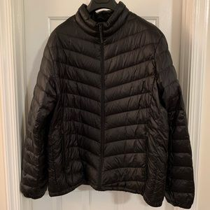 Other - Men's light weight down jacket (size: L)